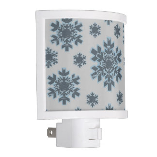 Color the Snowflake (grey) Night Light