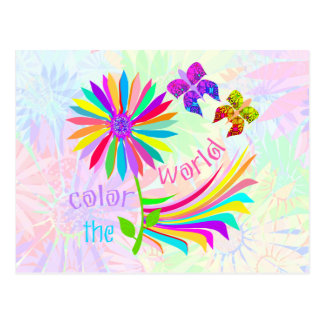 Color the World Notes Card