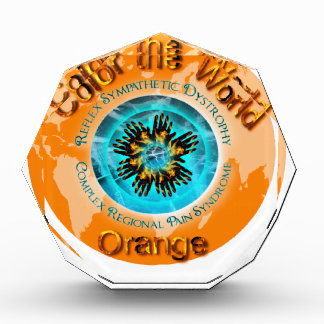 Color the World Orange - CRPS Dual Ice Circlet.png Acrylic Award
