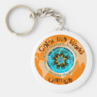 Color the World Orange - CRPS Dual Ice Circlet.png Keychain