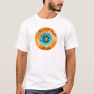Color the World Orange - CRPS Dual Ice Circlet.png T-Shirt