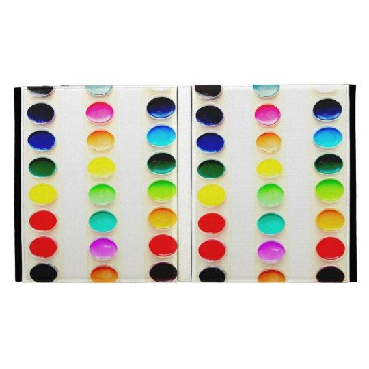 Color the World Watercolors Paints iPad Case
