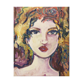 color theory and expression canvas print