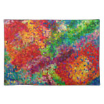 Color Theory Clash Placemat Cloth Place Mat