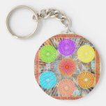 Color Therapy Graphics : Healing Energy Chakra Keychain