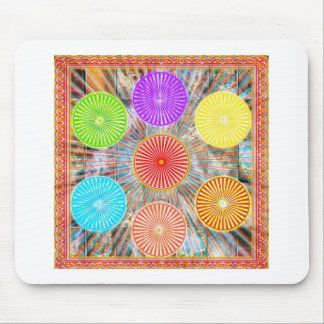 Color Therapy Graphics : Healing Energy Chakra Mousepad