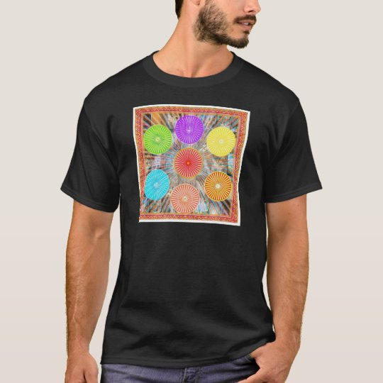 Color Therapy Graphics : Healing Energy Chakra T-Shirt