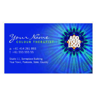 Color Therapy Star Business Card