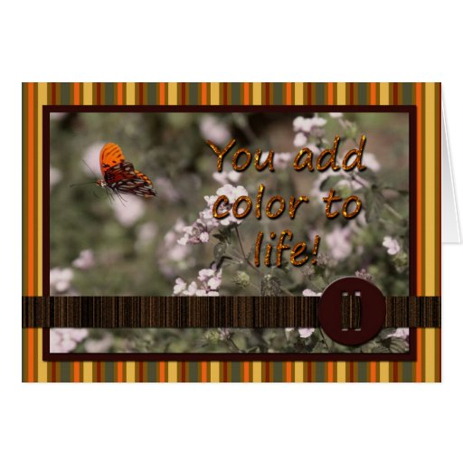 Color to Life Card