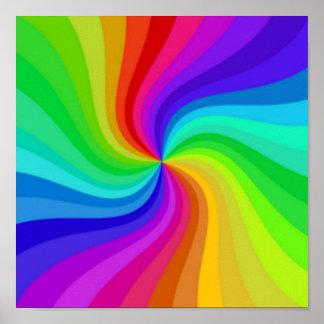 Color torcido impresiones