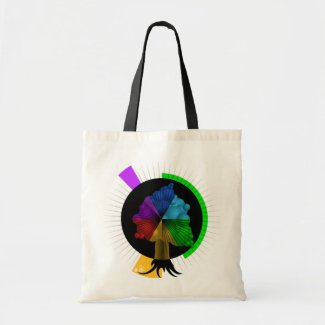 Color-Tree graphic bag