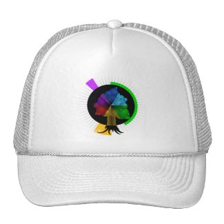 Color-Tree graphic hat