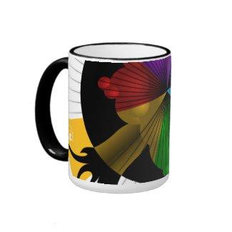Color-Tree graphic mug