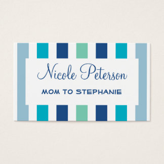 Color Trend Blue Mommy Card