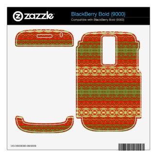 Color trendy pattern BlackBerry skins