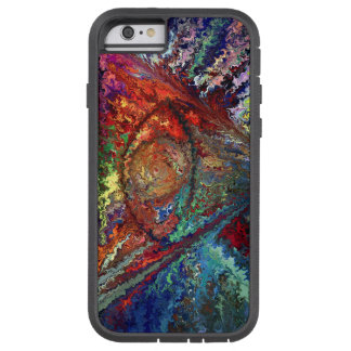 Color triangle by rafi talby tough xtreme iPhone 6 case