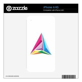 Color Triangle iPhone 4S Decal