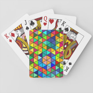 Color Triangles Playing Cards