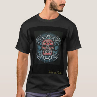 color trible skull T-Shirt