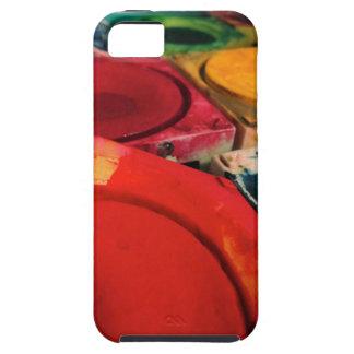 Color Tusche Indian Ink Paint Boxes Watercolor Art iPhone SE/5/5s Case