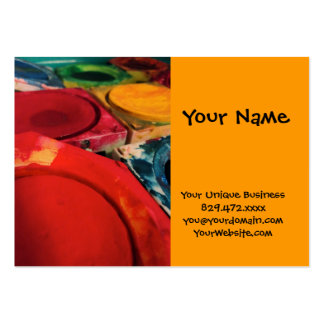 Color Tusche Indian Ink Paint Boxes Watercolor Art Large Business Card