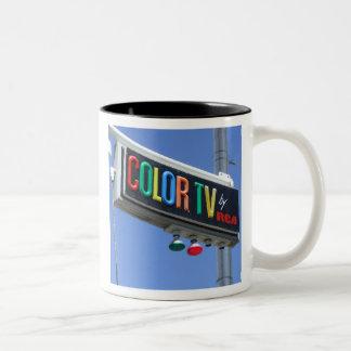 COLOR TV by RCA - Mug