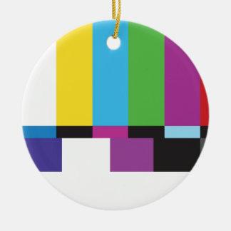 Color TV Ceramic Ornament
