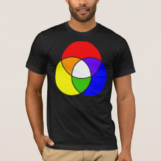 color venn diagram T-Shirt