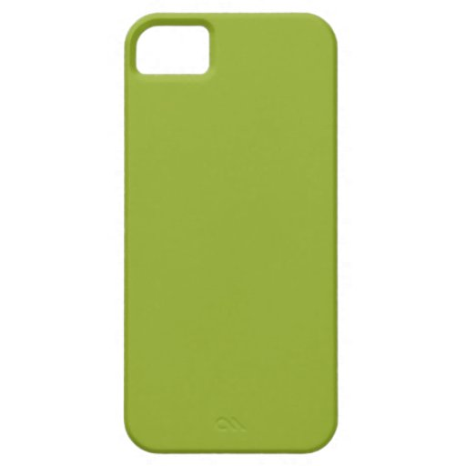 Color verde chartreuse iPhone 5 carcasas
