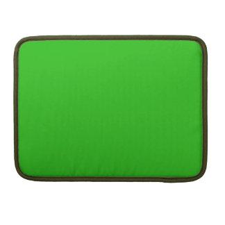 color verde claro simple funda para macbooks