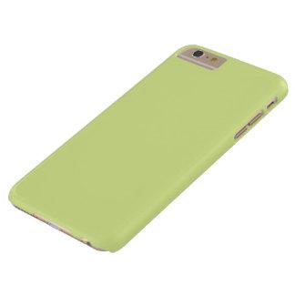 Color verde del limón del isótopo funda de iPhone 6 plus barely there