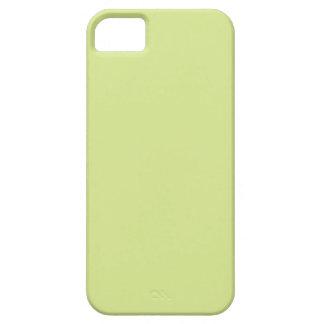 Color verde del limón del isótopo iPhone 5 carcasa