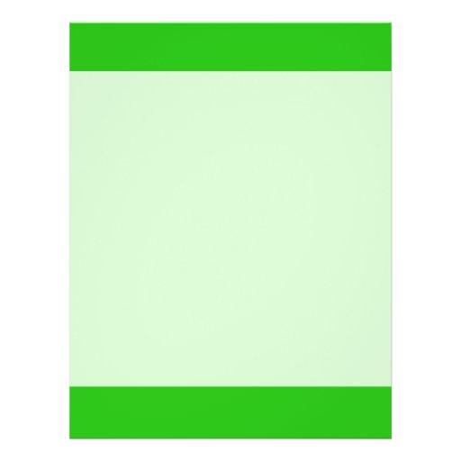 "color verde folleto 8.5"" x 11"""