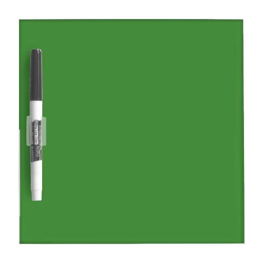 Color verde pequeño pizarras blancas