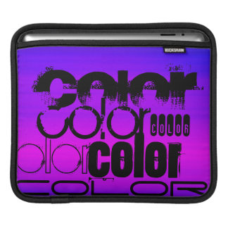 Color; Vibrant Violet Blue and Magenta Sleeve For iPads