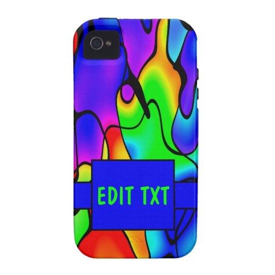 Color vibrante carcasa vibe iPhone 4