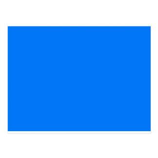 Color Visual Adaptive Living Tools Deep Sky Blue Post Card