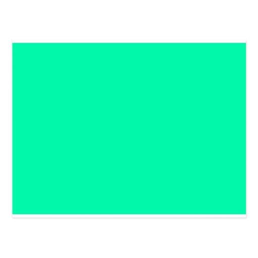 color visual adaptive living tools mint green postcard