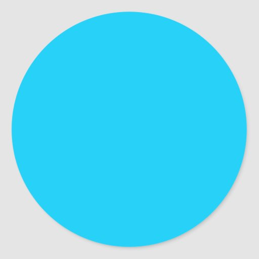 Color Visual Adaptive Living Tools Sky Blue 2 Stickers