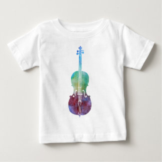 Color Washed Cello Baby T-Shirt