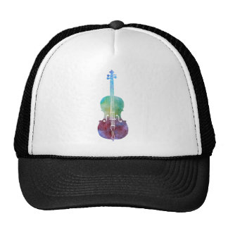 Color Washed Cello Trucker Hat