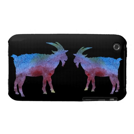 Color Washed Goats iPhone 3 Cover