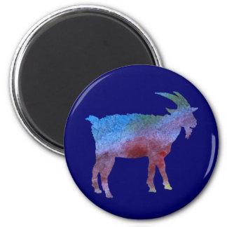 Color Washed Goats Magnet