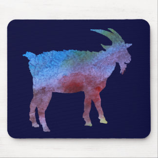 Color Washed Goats Mouse Pad