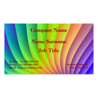 Color Wave Business Card Pack Of Standard Business Cards