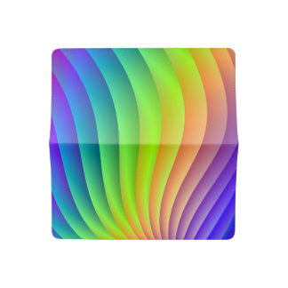 Color Wave Checkbook Cover