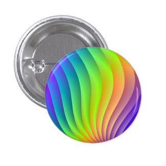 Color Wave Pinback Button