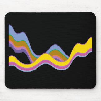 Color Waves Mousepads