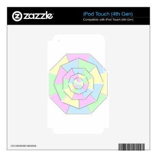 color-wheel-12-4w iPod touch 4G calcomanías