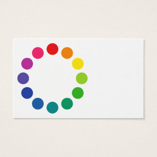 'Color Wheel 2' Business Card
